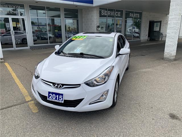 2015 Hyundai Elantra Sport Appearance (Stk: P31861) in Smiths Falls - Image 1 of 8