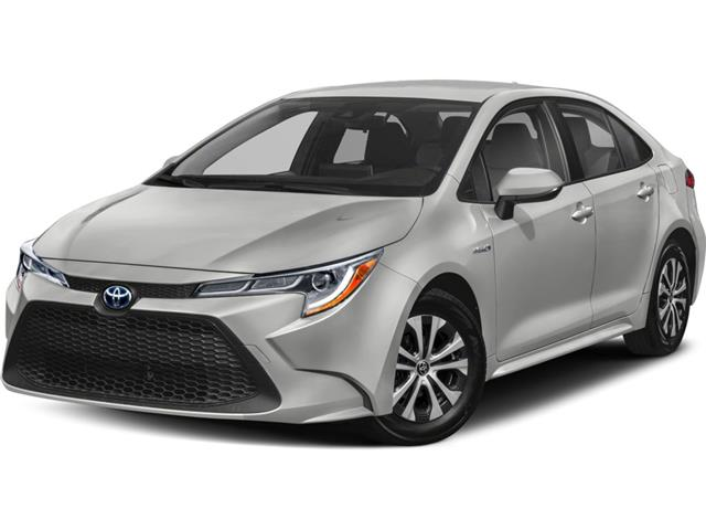 2021 Toyota Corolla Hybrid Base w/Li Battery (Stk: 61200) in Sarnia - Image 1 of 5