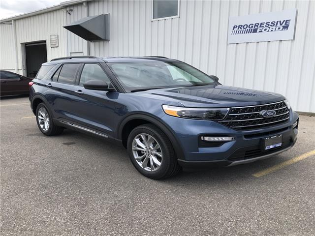 2020 Ford Explorer XLT (Stk: LGC05464) in Wallaceburg - Image 1 of 17