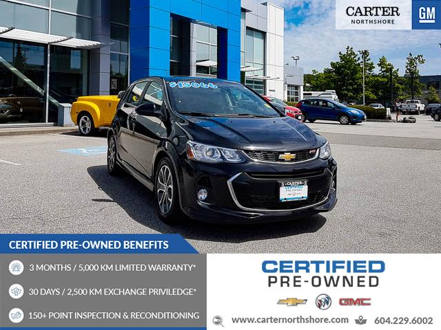 2017 Chevrolet Sonic LT Auto (Stk: 974150) in North Vancouver - Image 1 of 27