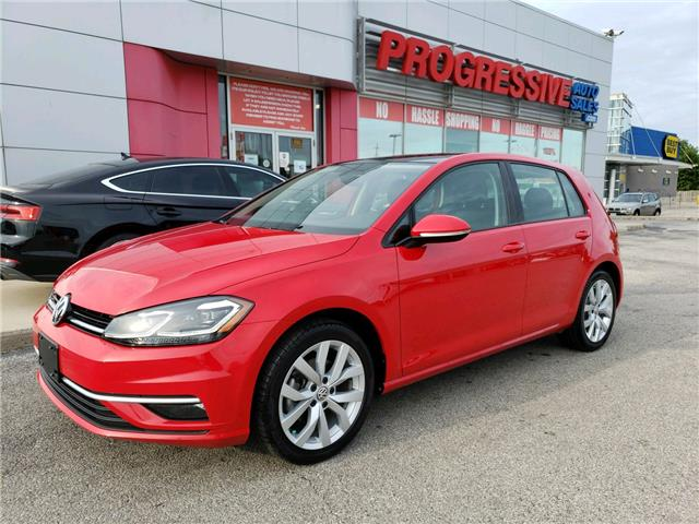 2019 Volkswagen Golf 1.4 TSI Execline (Stk: KM000491) in Sarnia - Image 1 of 19