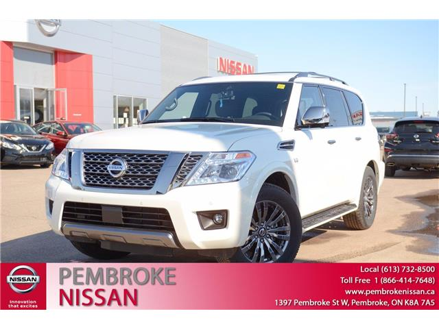 2020 Nissan Armada Platinum (Stk: 20116) in Pembroke - Image 1 of 30