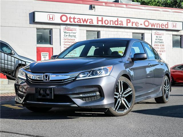 2017 Honda Accord Sport (Stk: H83630) in Ottawa - Image 1 of 27