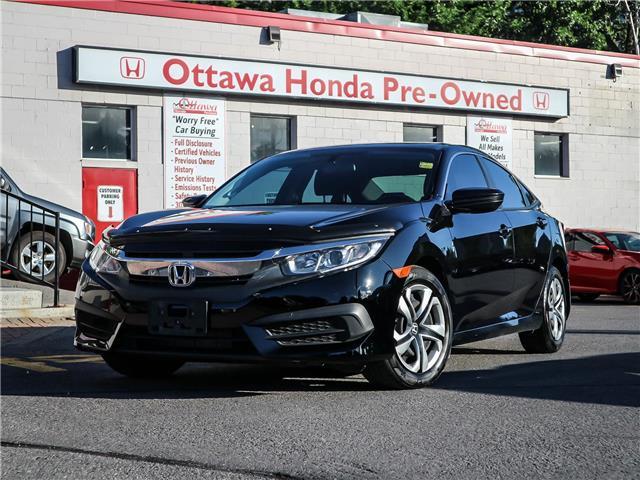 2016 Honda Civic LX (Stk: H83690) in Ottawa - Image 1 of 26