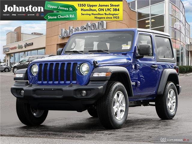 2020 Jeep Wrangler Sport (Stk: L1186) in Hamilton - Image 1 of 29