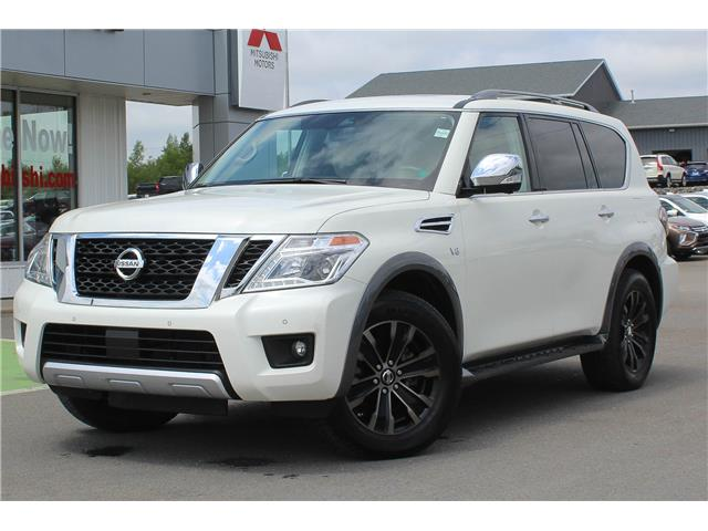 2018 Nissan Armada Platinum (Stk: 200826A) in Fredericton - Image 1 of 23