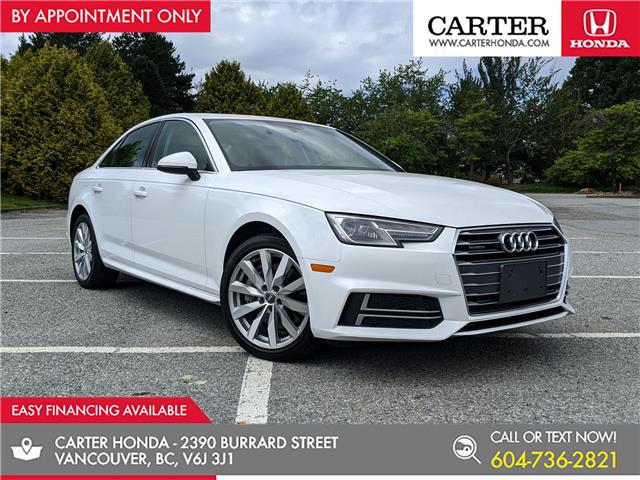 2018 Audi A4 2.0T Komfort (Stk: 6L34141) in Vancouver - Image 1 of 25