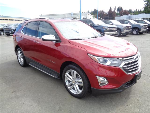 2020 Chevrolet Equinox Premier (Stk: T20160) in Campbell River - Image 1 of 27