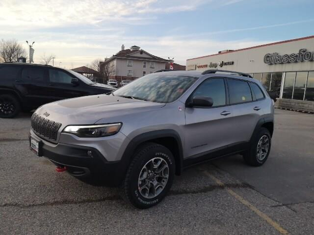 2020 Jeep Cherokee Trailhawk (Stk: 20-063) in Ingersoll - Image 1 of 21