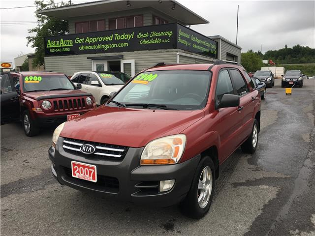 2007 Kia Sportage LX (Stk: 2669) in Kingston - Image 1 of 14