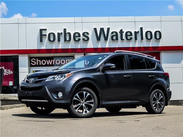 Used 2015 Toyota RAV4  1 OWNER! XLE AWD MOONROOF  - Waterloo - Forbes Waterloo Toyota