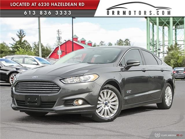 2016 Ford Fusion Energi SE Luxury (Stk: 6136) in Stittsville - Image 1 of 27
