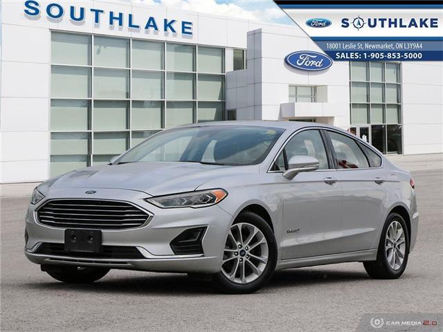 2019 Ford Fusion Hybrid SEL (Stk: P51332) in Newmarket - Image 1 of 27