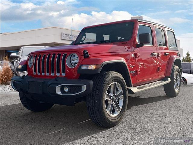 2018 Jeep Wrangler Unlimited Sahara (Stk: 98756) in London - Image 1 of 26