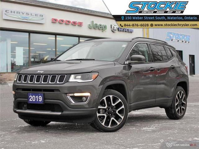 2019 Jeep Compass Limited (Stk: 33260) in Waterloo - Image 1 of 27