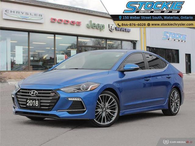 2018 Hyundai Elantra Sport (Stk: 34346) in Waterloo - Image 1 of 27