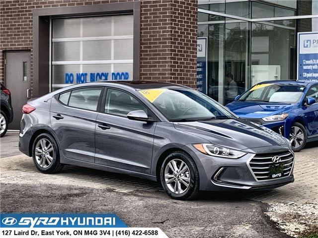 2018 Hyundai Elantra GL SE (Stk: H5646A) in Toronto - Image 1 of 29