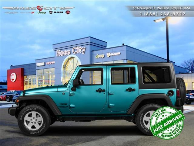 2016 Jeep Wrangler Unlimited Sport (Stk: L2225A) in Welland - Image 1 of 1