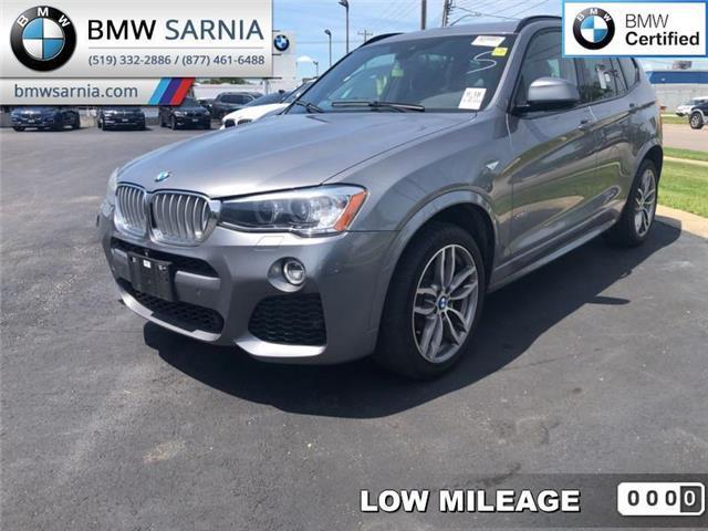 2017 BMW X3 xDrive28i (Stk: XU303) in Sarnia - Image 1 of 5