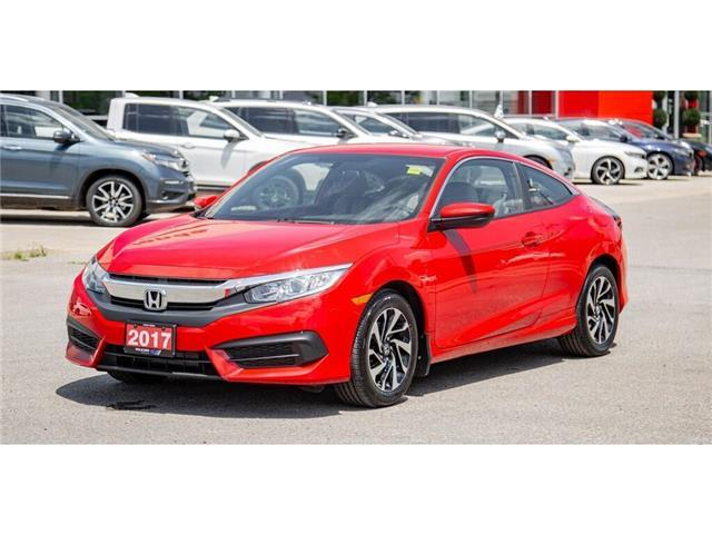 2017 Honda Civic Coupe 2dr Man LX | BACK UP CAM | SPORT MODE | ECO MODE (Stk: 400693P) in Brampton - Image 1 of 23