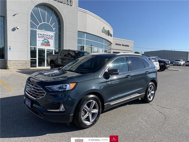 2019 Ford Edge SEL (Stk: U04602) in Chatham - Image 1 of 27