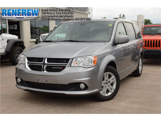 2019 Dodge Grand Caravan Crew (Stk: K445) in Renfrew - Image 1 of 25