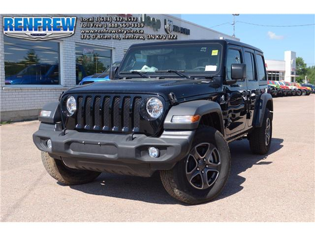 2019 Jeep Wrangler Unlimited Sport (Stk: K431) in Renfrew - Image 1 of 26
