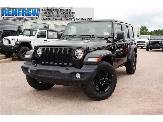 2019 Jeep Wrangler Unlimited Sport (Stk: K437) in Renfrew - Image 1 of 26