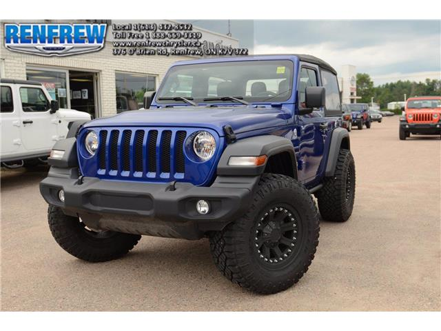 2019 Jeep Wrangler Sport (Stk: K419) in Renfrew - Image 1 of 25
