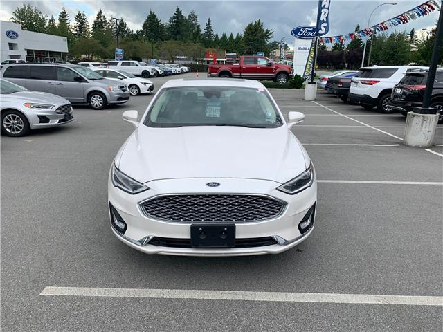 2019 Ford Fusion Hybrid Titanium (Stk: P1203) in Vancouver - Image 1 of 22