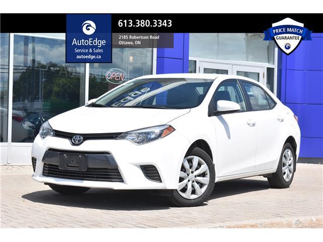 2016 Toyota Corolla CE (Stk: A0248) in Ottawa - Image 1 of 27