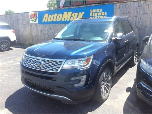 2017 Ford Explorer Platinum (Stk: A9105) in Sarnia - Image 1 of 1