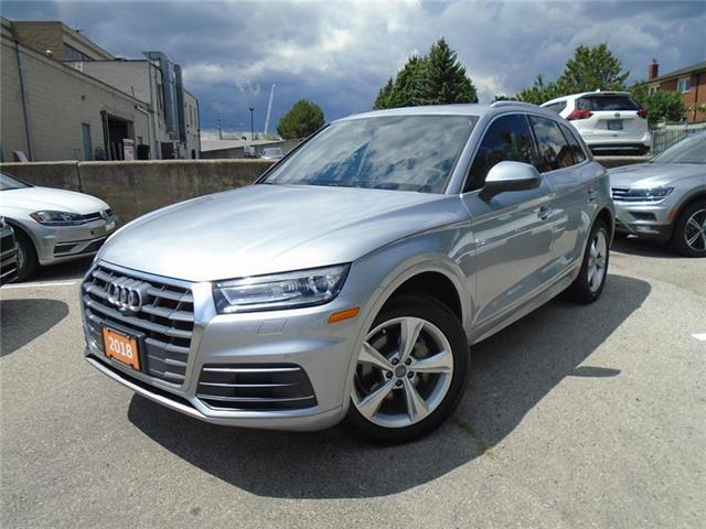 2018 Audi Q5 2.0T Progressiv (Stk: P7496) in Toronto - Image 1 of 21