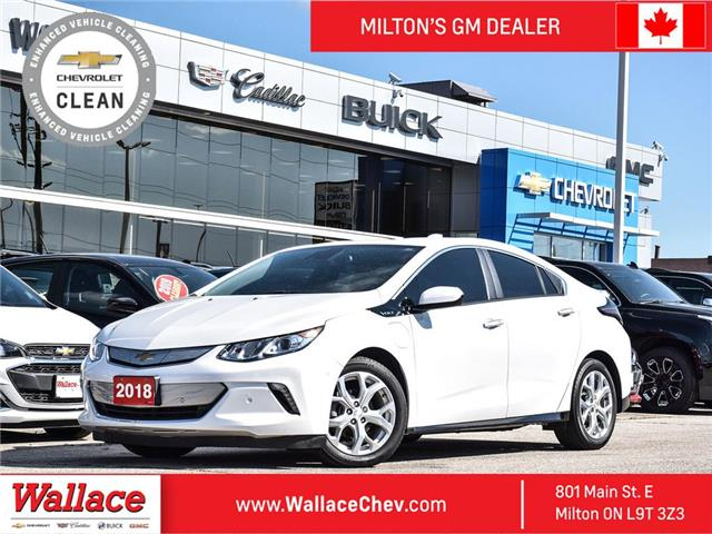 2018 Chevrolet Volt PREMIER | LEATHER | NAVI | ADAPTIVE CC | ONE OWNR (Stk: PL5323) in Milton - Image 1 of 26