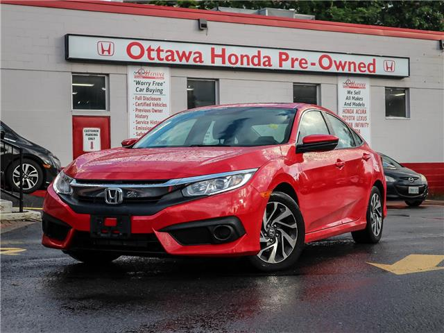 2017 Honda Civic EX (Stk: 329891) in Ottawa - Image 1 of 27