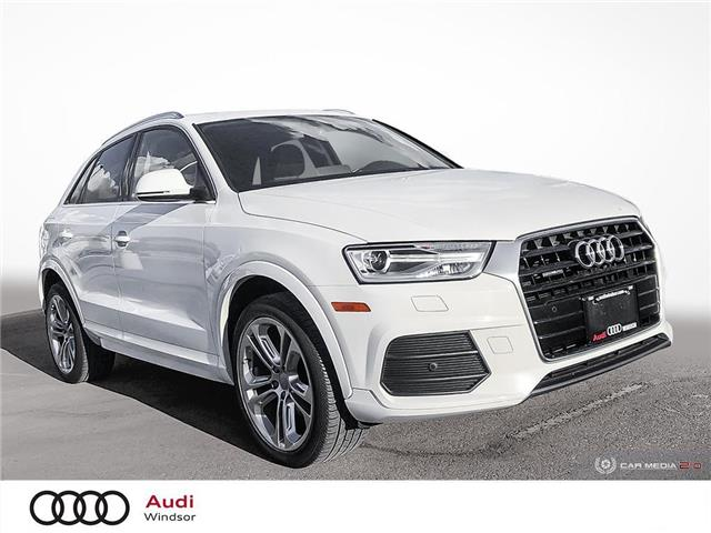 2017 Audi Q3 2.0T Progressiv (Stk: 9968A) in Windsor - Image 1 of 28