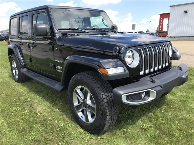 2020 Jeep Wrangler Unlimited Sahara (Stk: LT032) in Rocky Mountain House - Image 1 of 26
