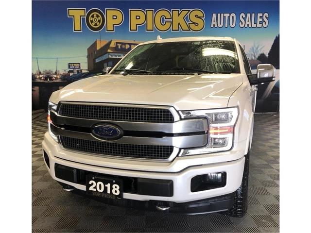 2018 Ford F-150 Platinum (Stk: E70064) in NORTH BAY - Image 1 of 29