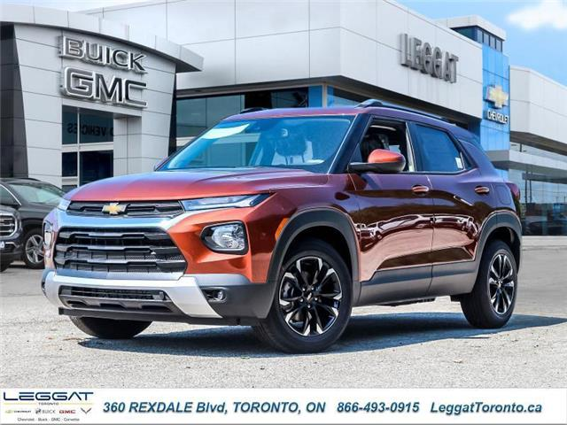 2021 Chevrolet TrailBlazer LT (Stk: 020902) in Etobicoke - Image 1 of 24