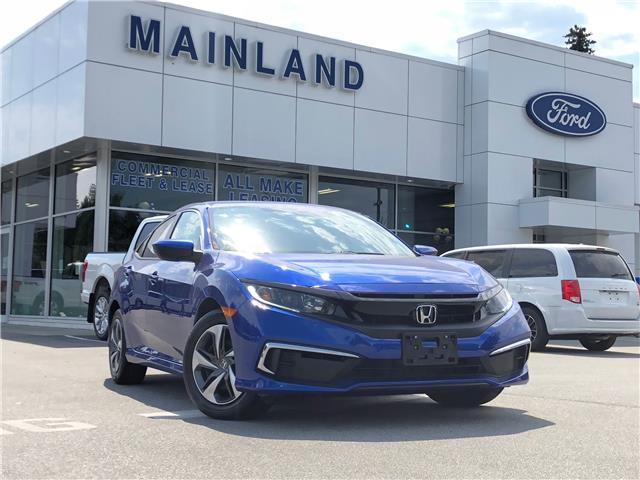 2019 Honda Civic LX (Stk: 20F13355A) in Vancouver - Image 1 of 26