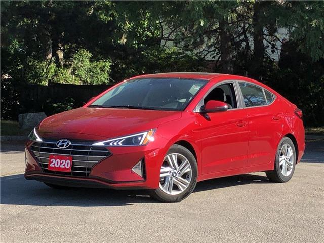 2020 Hyundai Elantra Preferred w/Sun & Safety Package (Stk: 5700) in Stoney Creek - Image 1 of 20