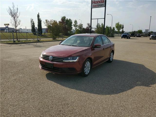 2017 Volkswagen Jetta Wolfsburg Edition (Stk: 19-242A) in Grande Prairie - Image 1 of 13