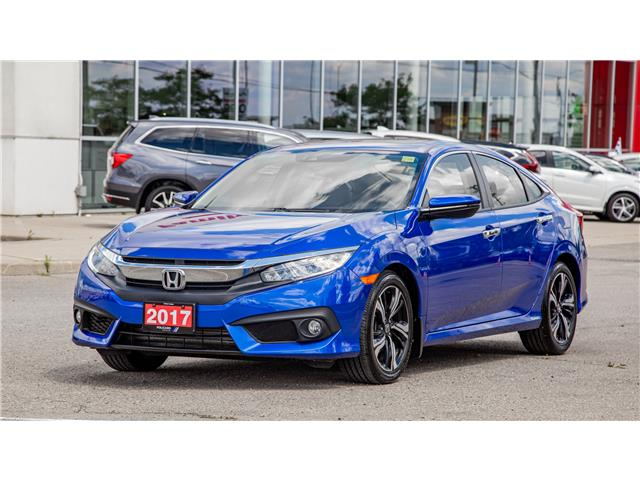 2017 Honda Civic Touring (Stk: 109981T) in Brampton - Image 1 of 27