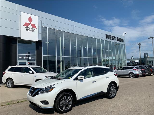 2018 Nissan Murano Platinum (Stk: BM3837) in Edmonton - Image 1 of 30