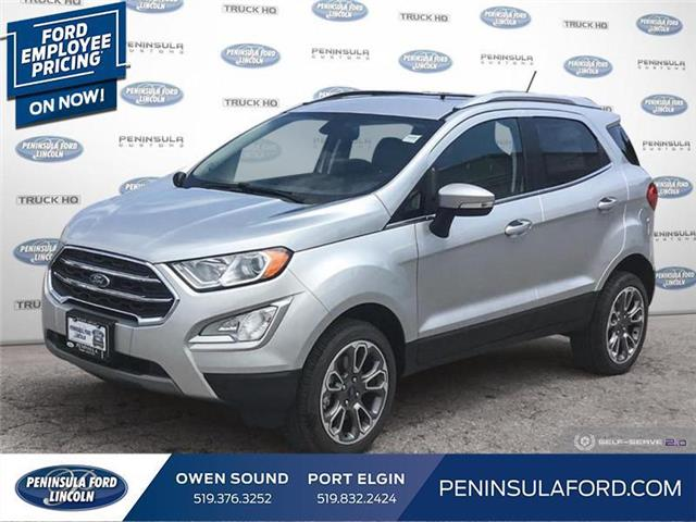 2020 Ford EcoSport Titanium (Stk: 20EC02) in Owen Sound - Image 1 of 25