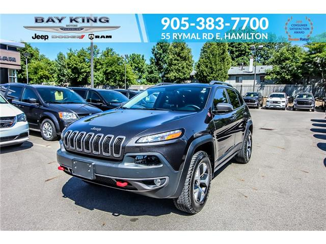 2017 Jeep Cherokee Trailhawk (Stk: 207611A) in Hamilton - Image 1 of 29