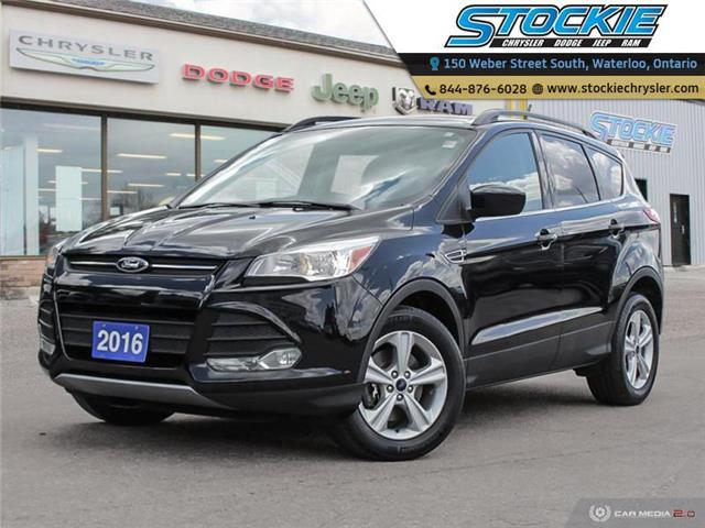 2016 Ford Escape SE (Stk: 34483) in Waterloo - Image 1 of 27