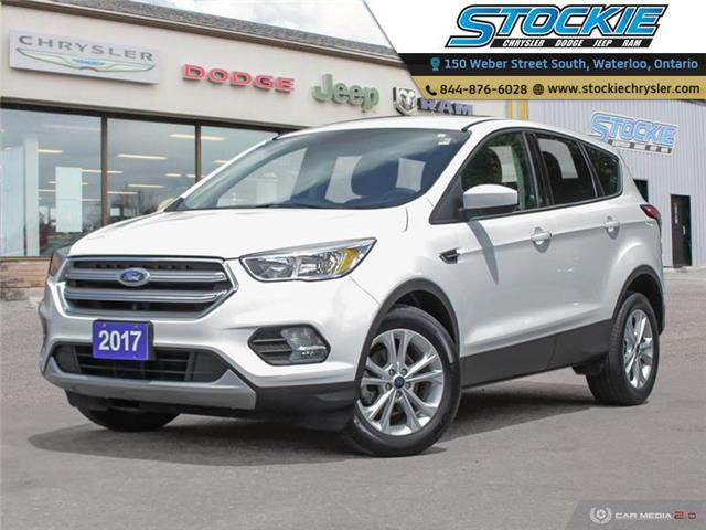 2017 Ford Escape SE (Stk: 34491) in Waterloo - Image 1 of 27