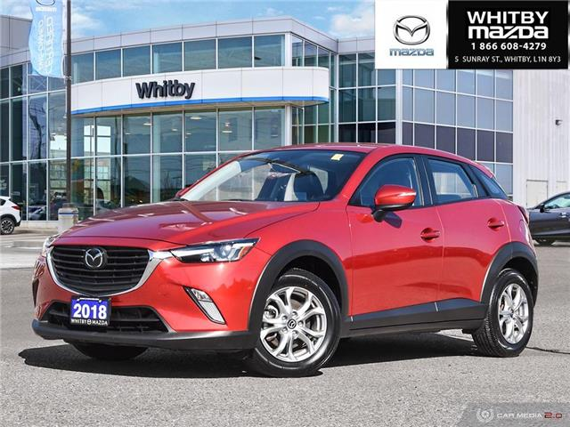 2018 Mazda CX-3 GS (Stk: P17618) in Whitby - Image 1 of 26