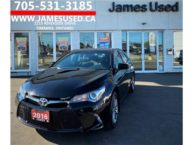 2016 Toyota Camry SE (Stk: P02793) in Timmins - Image 1 of 15